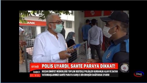 Polis Vatandaşı Sahte Paraya Karşı Uyardı
