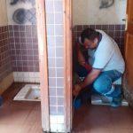 Hırsızlar Tuvaletin Musluklarını Çaldılar