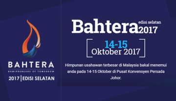 """Bumipreneurs of Tomorrow"", Tema Program BAHTERA 2017 Edisi Selatan"