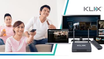 KLIX TV – Platform Penstriman Digital Yang Menggunakan Data Mudah Alih