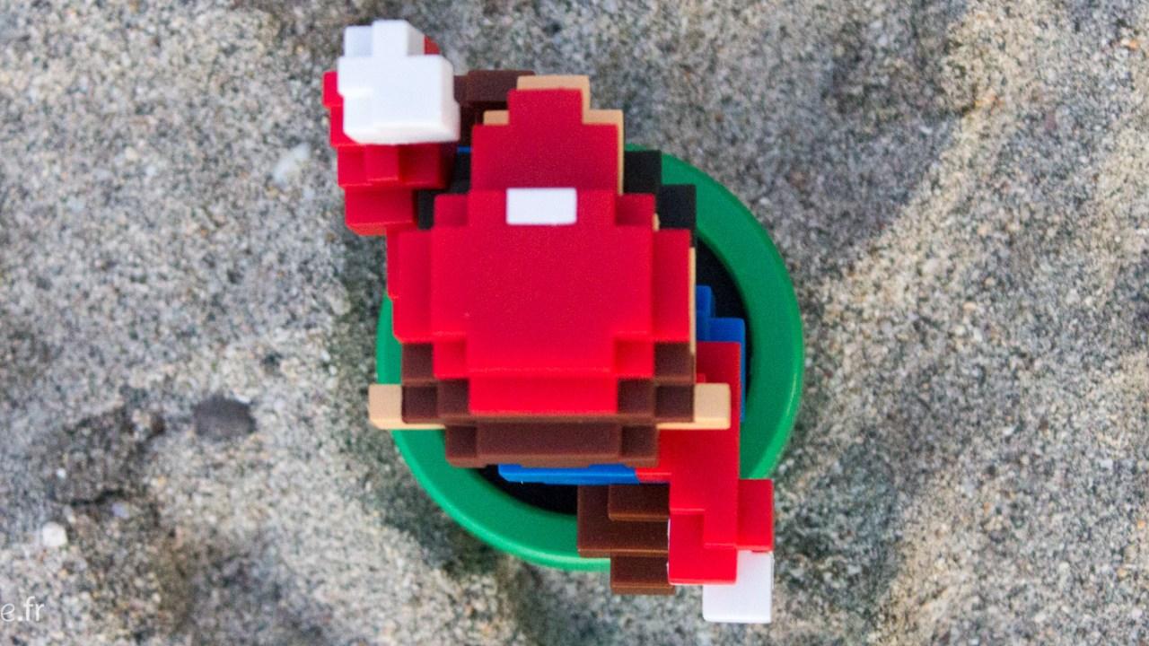 Un gif animé de l'Amiibo Mario ? Chiche ?