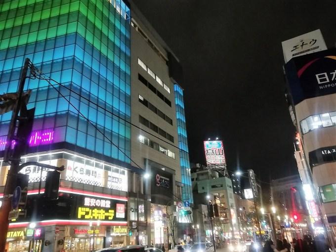 福岡 中州の街並み