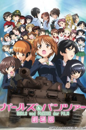 Girls und Panzer der Film – Bluray