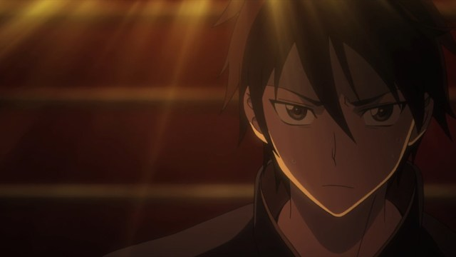 Highschool of the Dead Episode 3 Takashi goes down the Stair