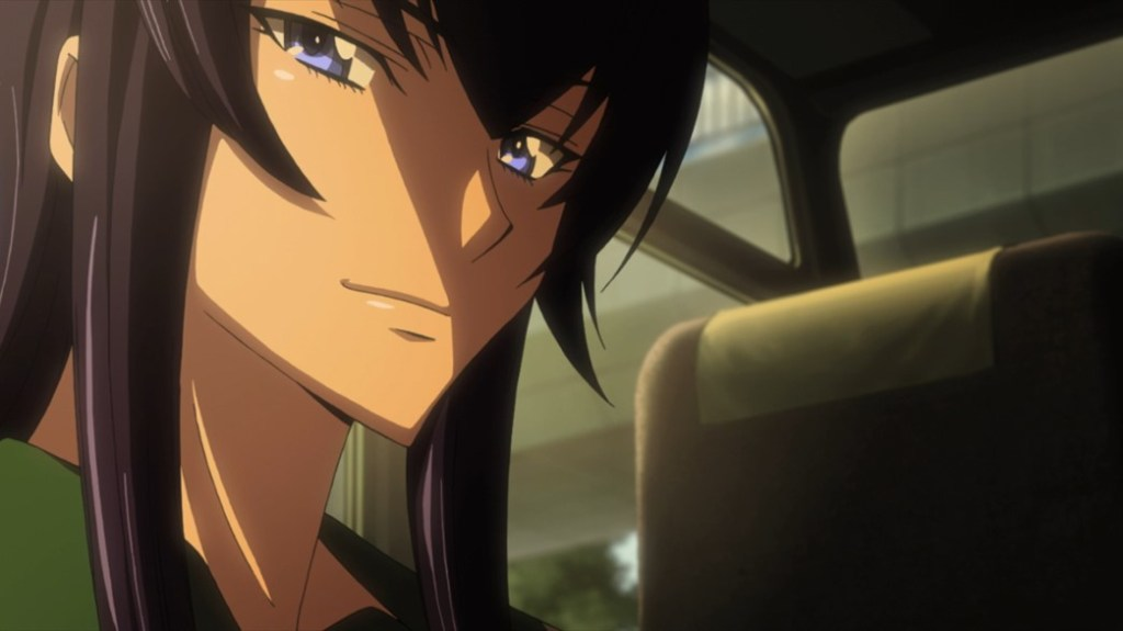 Highschool of the Dead Episode 5 Saeko's Impressed