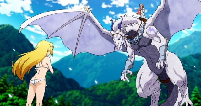 Dragonar Academy Eco riding Silvia Lautreamont's Dragon