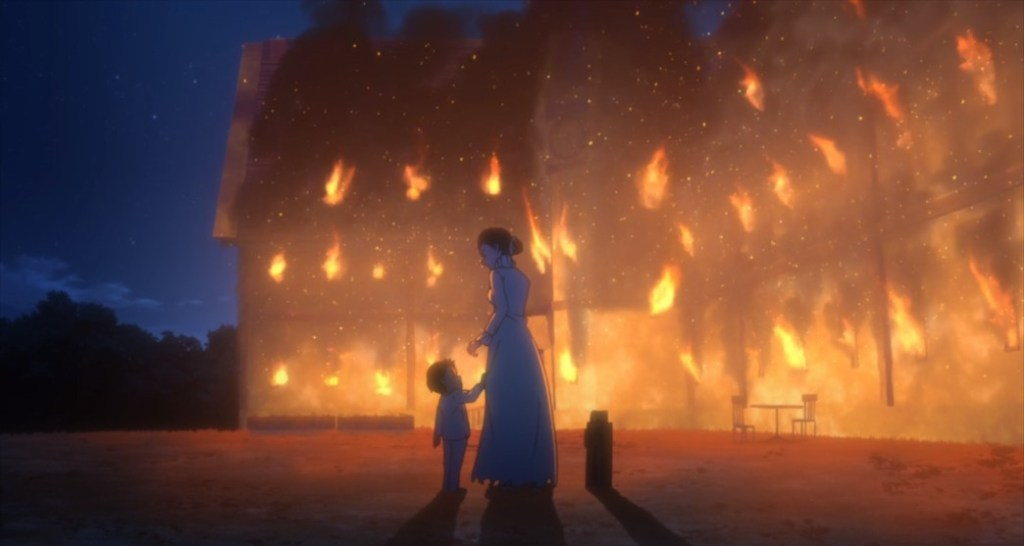 The Promised Neverland Episode 11 Mom and Phil