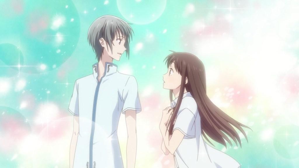 Fruits Basket Episode 1 Yuki Soma and Tohru Honda