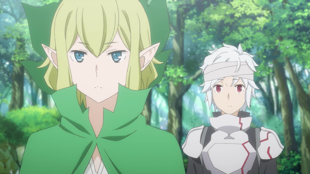 Is It Wrong To Try To Pick Up Girls In A Dungeon Bell and Ryu