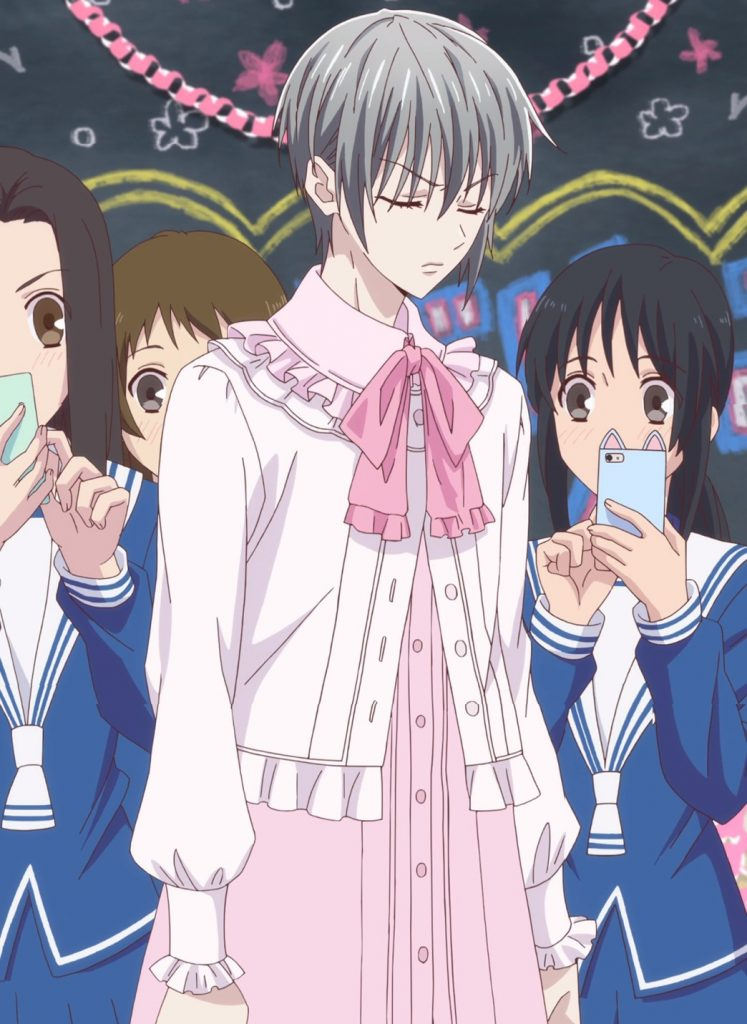 Fruits Basket Episode 6 Yuki Pretty In Pink