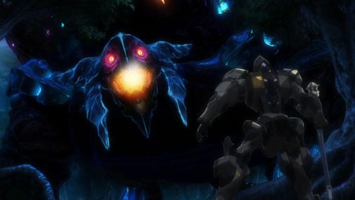 Knight's & Magic Silhouette Knight Versus Giant Demon Tortoise