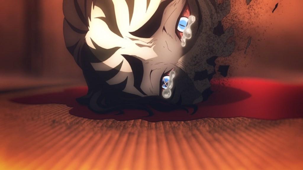 Demon Slayer Kimetsu No Yaiba Episode 13 Tsuzumi Demon Crying