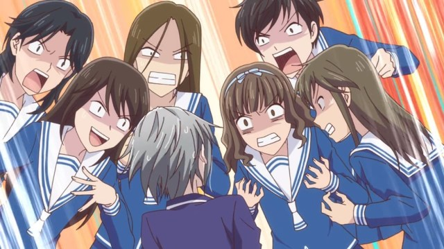 Fruits Basket Episode 12 Yuki And First Year Girls