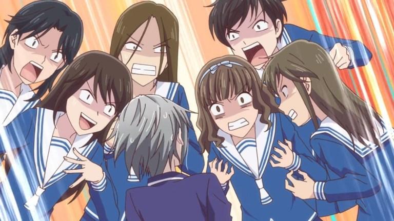 Fruits Basket Episode 12 Yuki And First Year Girls