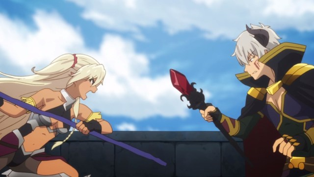How Not To Summon A Demon Lord Episode 3 Edelgard And Diablo Fight