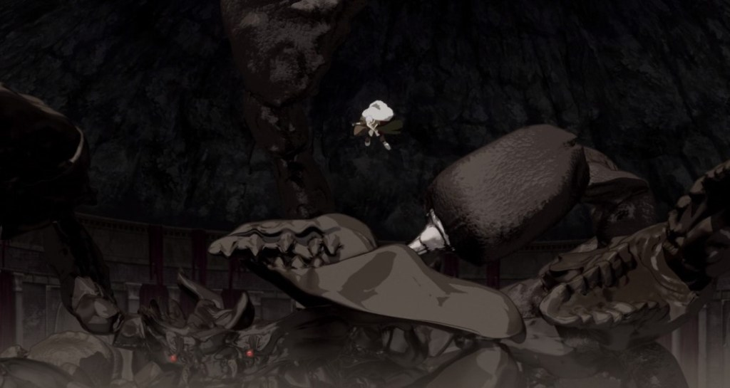 Arifureta From Commonplace to World's Strongest Episode 3 Giant Scorpion Attack