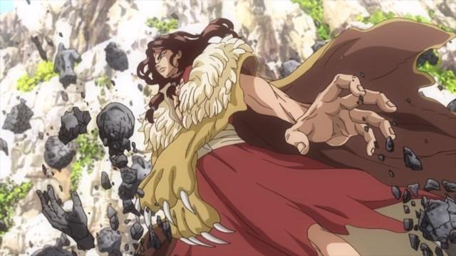Dr Stone Episode 3 Tsukasa Destroying Petrified Adults