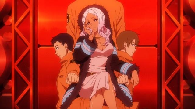 Fire Force Episode 4 Princess Hibana Fire Soldier Chair