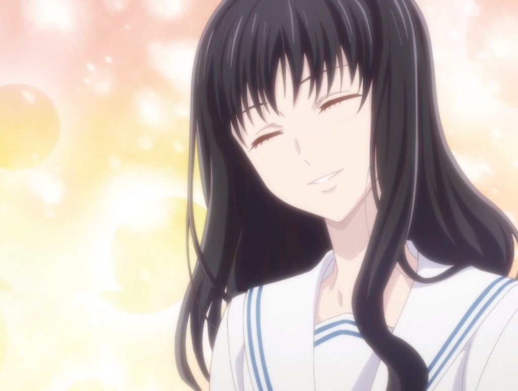 Fruits Basket Episode 21 Relaxed Saki Smiling