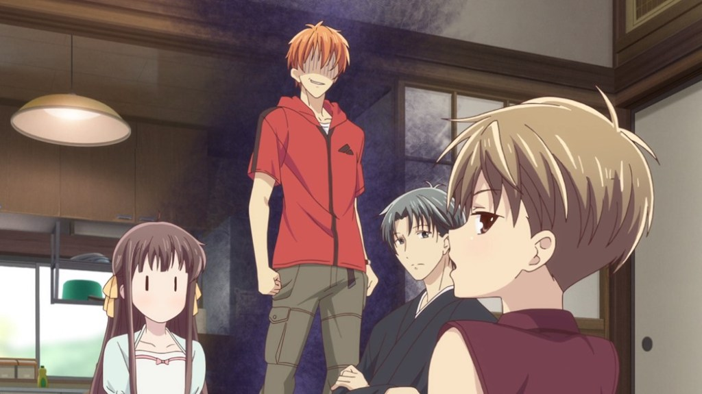 Fruits Basket Episode 20 Kyo Getting Angry At Hiro