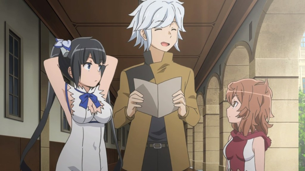 Is It Wrong To Try To Pick Up Girls In A Dungeon II Episode 5 Hestia Bell And Lili Thinking About Maids