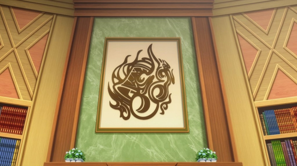 Is It Wrong To Try To Pick Up Girls In A Dungeon II Episode 5 Hestia Familia Crest