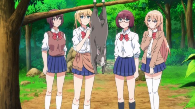 Are You Lost Episode 6 Asuka Homare Mutsu Shion And The Rabbit