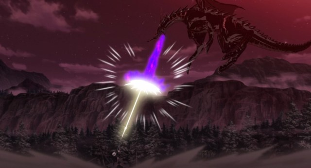 Arifureta From Commonplace to World's Strongest Episode 9 Hajime and Dragon Compare Fire Power