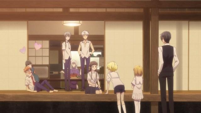 Fruits Basket Episode 25 Dinner Party at Shigure's