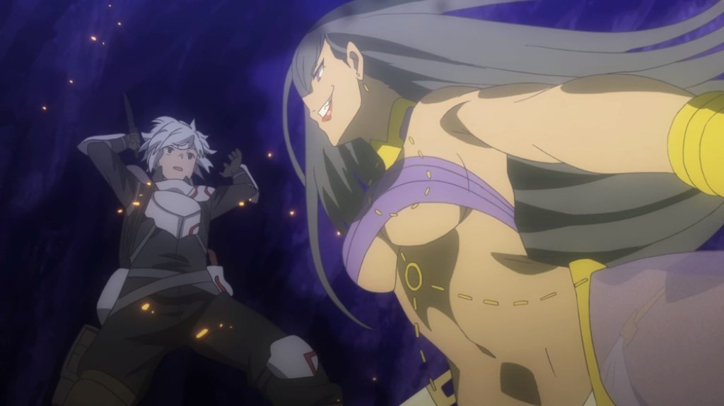 Is It Wrong To Try To Pick Up Girls In A Dungeon II Episode 8 Bell Versus Aisha