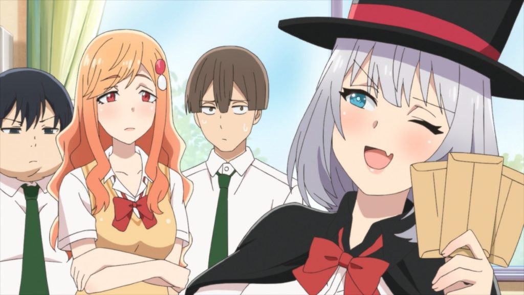 Magical Sempai Episode 9 Assistant Saki Masashi and Sempai Envelopes