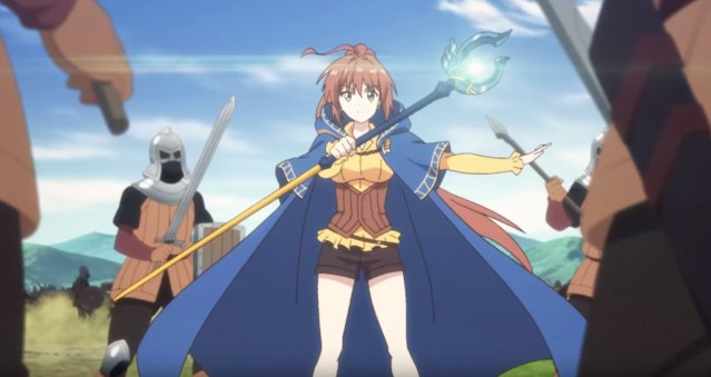 Isekai Cheat Magician Episode 12 Rin versus Zombies