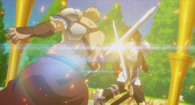 Cautious Hero Episode 3 Cerceus training Seiya