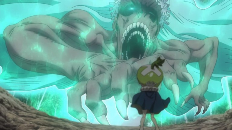 Dr Stone Episode 19 Mother Nature coming for Suika