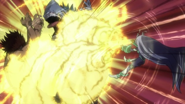 My Hero Academia 4 Episode 68 Nejire Takes Down Two Criminals with Giant Quirks