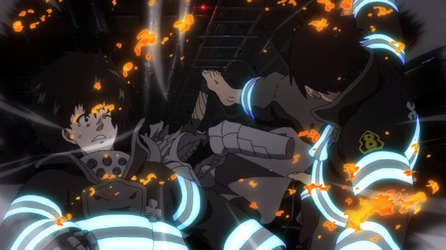 Fire Force Episode 20 Shinra Saves Licht