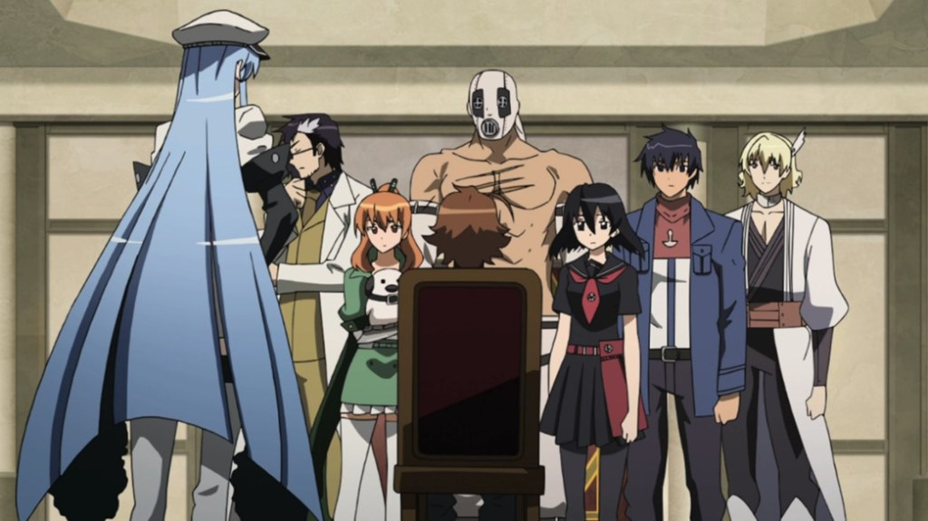 Akame ga Kill Episode 10 Esdeath introduces Tatsumi to the Jaegers