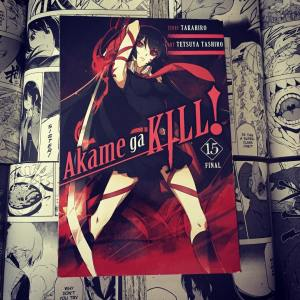 Akame ga Kill Volume 15 Cover