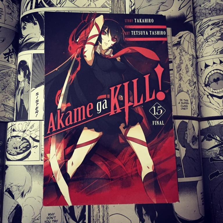 Akame ga Kill Volume 15 Cover