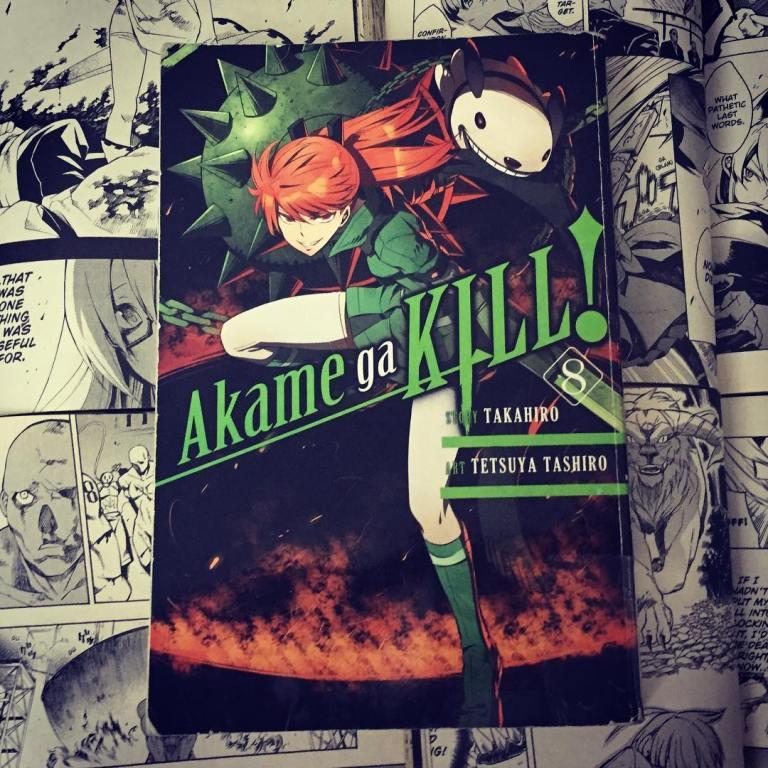 Akame ga Kill Volume 8 Cover