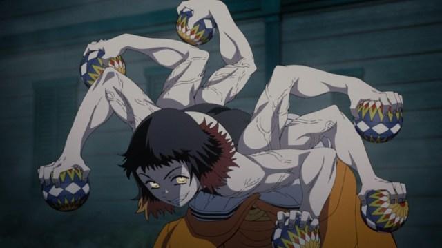 Demon Slayer Kimetsu No Yaiba Episode 9 Susamaru and her Temaris