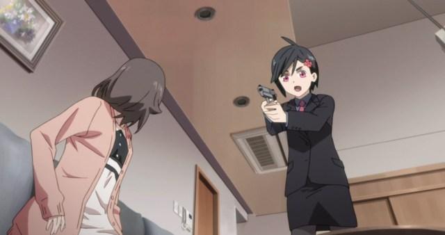 ID Invaded Episode 5 Hondomachi arresting Nahoshi Inami