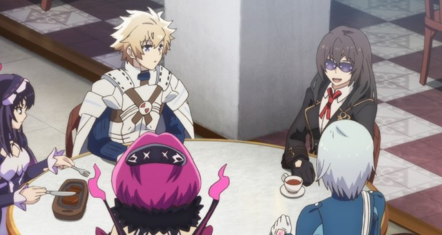 Infinite Dendrogram Episode 3 Ray Nemesis Rook Babylon and Marie Adler