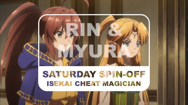 Isekai Cheat Magician Spin-off Saturday Rin and Myura New Title