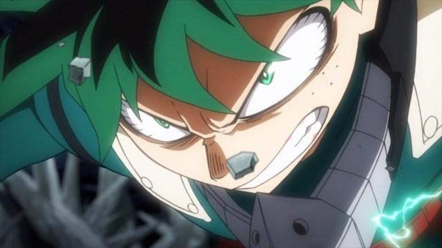 My Hero Academia 4 Episode 75 Midoriya Kicking Ass