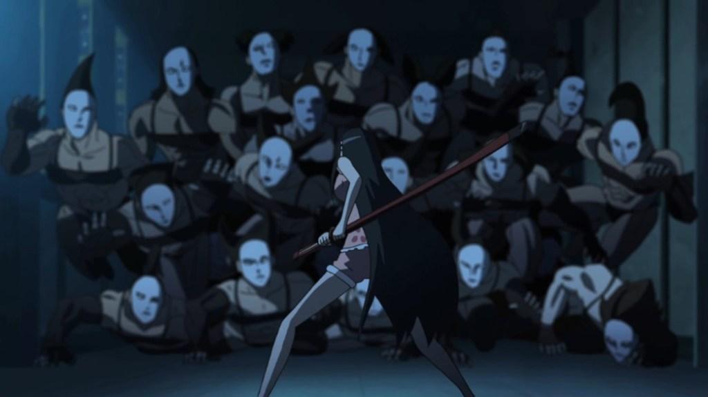 Akame ga Kill Episode 11 Akame Versus Stylish's Super Soldiers