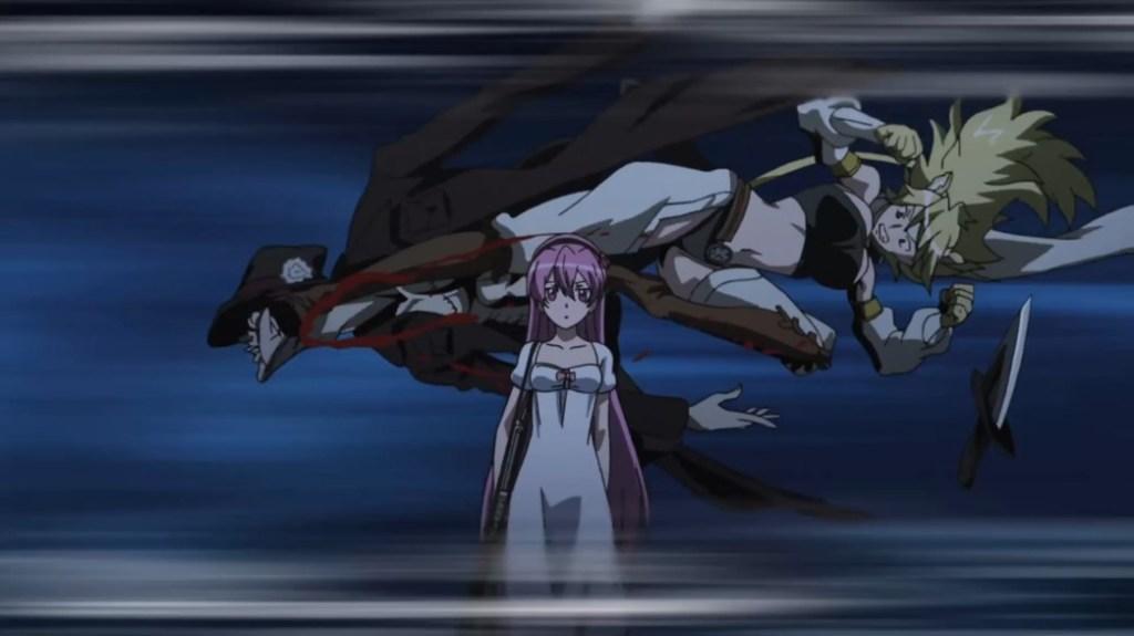 Akame ga Kill Episode 11 Leone's back