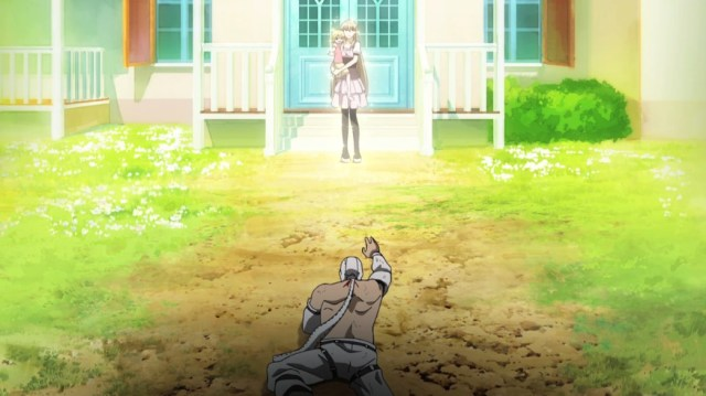 Akame ga Kill Episode 17 Bols trying to get homer