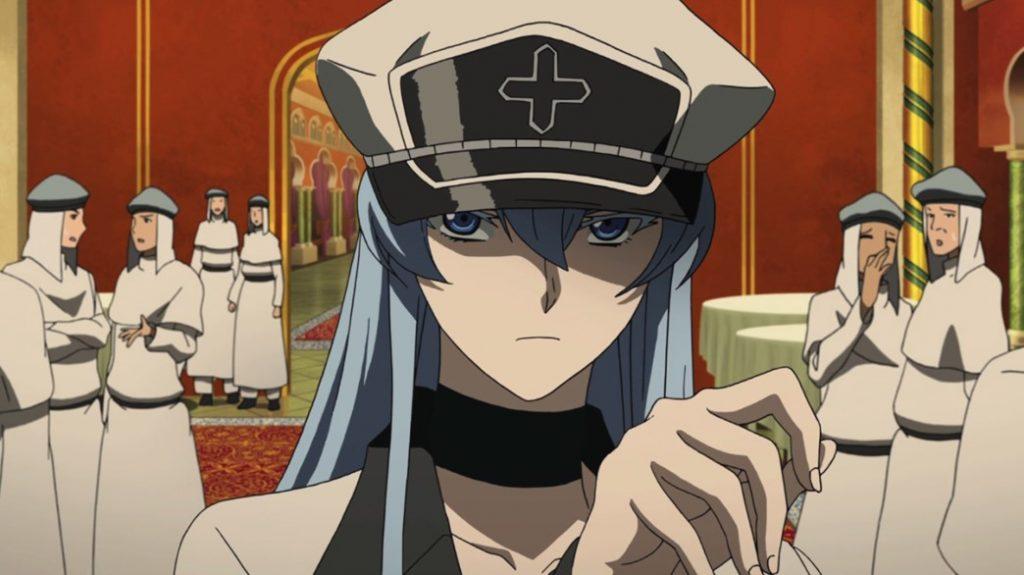Akame ga Kill Episode 18 Esdeath