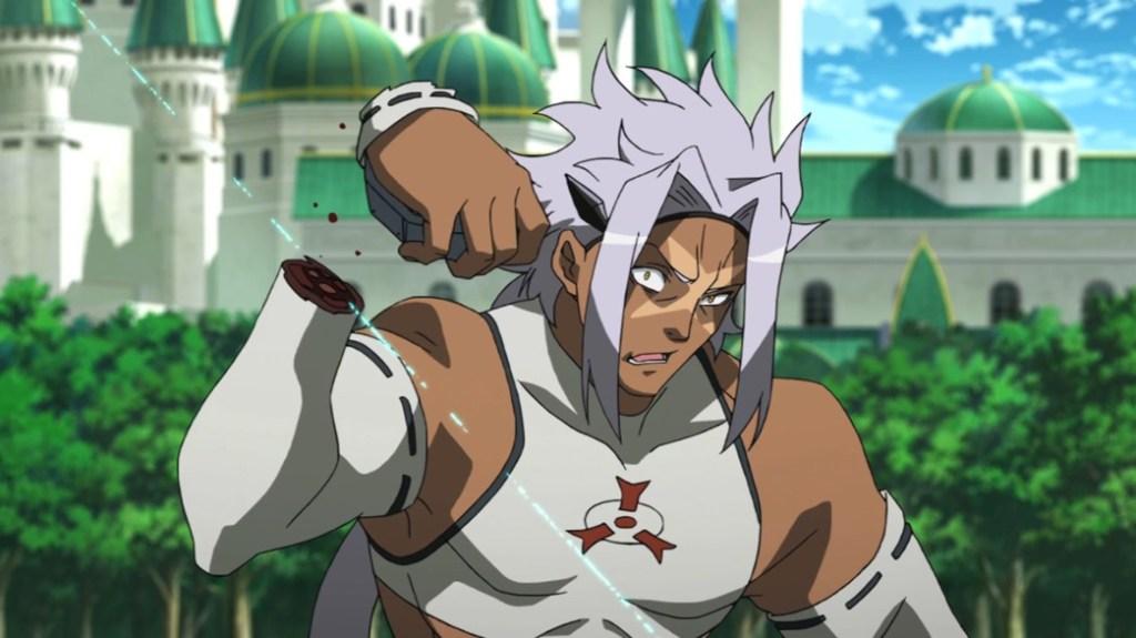 Akame ga Kill Episode 20 Syura loses his Hand
